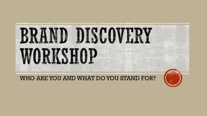 Brand Discovery Workshop