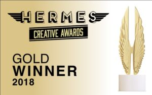 Hermes Award Bug Gold 2018