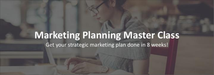Marketing Class website graphic